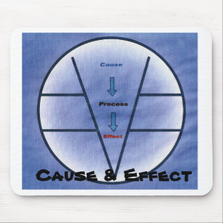 cause and effect jpg, Cause & Effect Mouse Pad