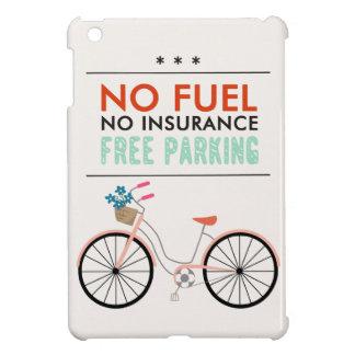CAUSES GO GREEN BICYCLING BENEFITS NO FUEL INSURAN iPad MINI COVER