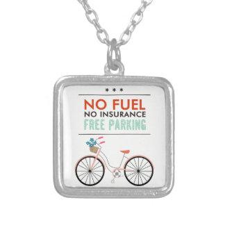 CAUSES GO GREEN BICYCLING BENEFITS NO FUEL INSURAN PENDANTS