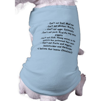 Causes - Healthy Eating Doggie Tee Shirt