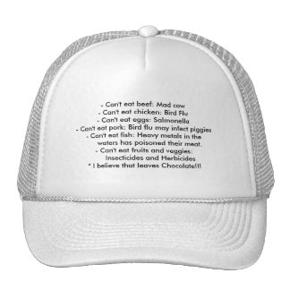 Causes - Healthy Eating Hats