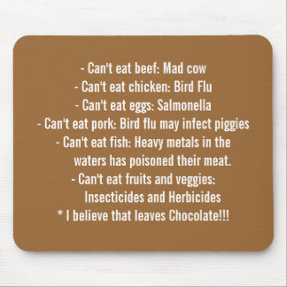 Causes - Healthy Eating Mouse Pad