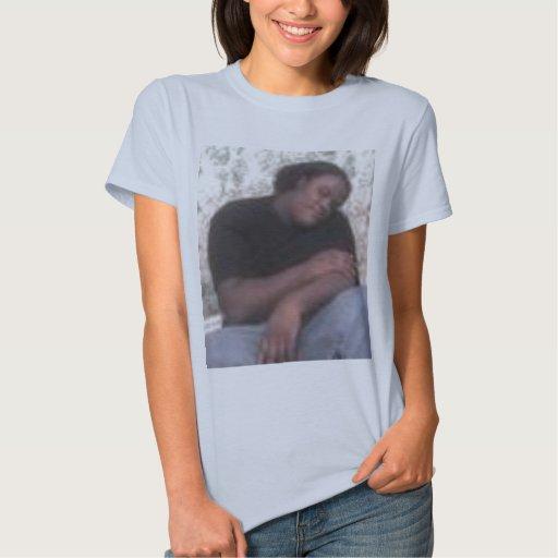 causey de los dontae para las mujeres tee shirt