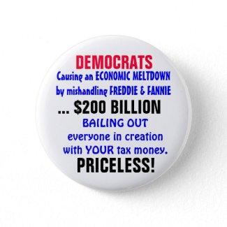 Causing an ECONOMIC MELTDOWN... button