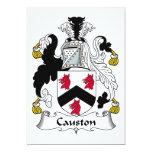 Causton Family Crest Custom Invites