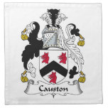 Causton Family Crest Printed Napkins