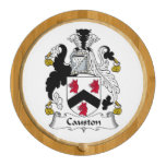 Causton Family Crest Round Cheese Board