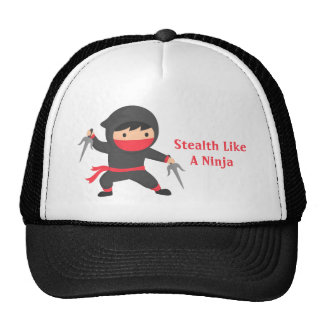 Cautela Ninja con las armas de Sai para Gorra