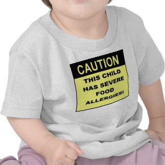 Caution2 Camisetas