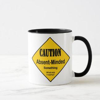 Caution Absent Minded Mug