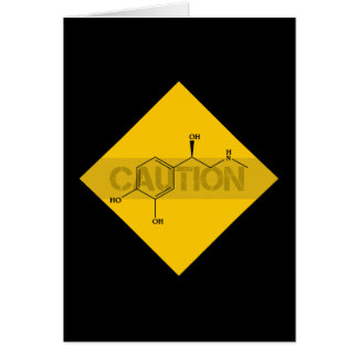 Caution: Adrenaline. Card