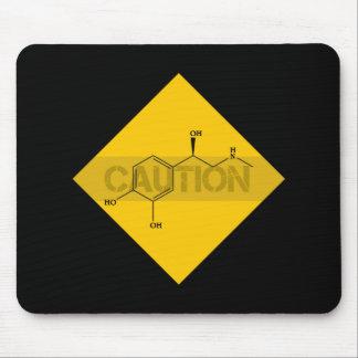 Caution: Adrenaline. Mouse Pad