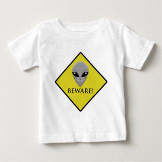 CAUTION ALIEN BABY T-Shirt
