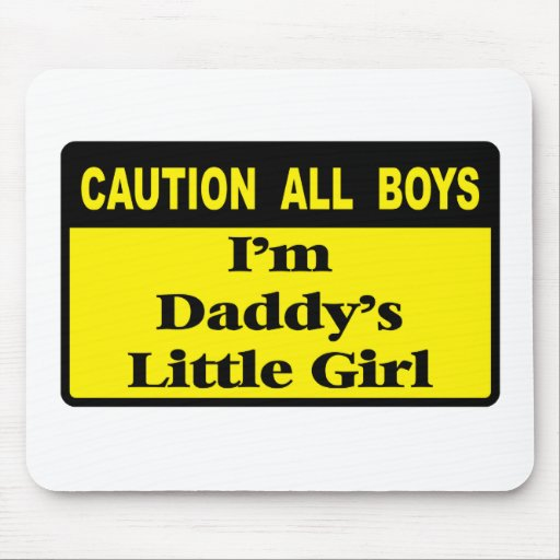 Caution All Boys Mouse Pads