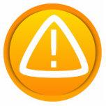 Caution Attention Symbol Photo Cut Out