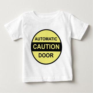 Caution Automatic Door Baby T-Shirt