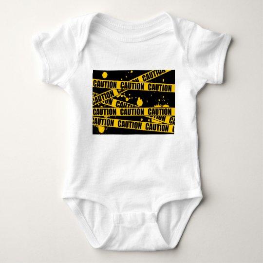 Caution! Baby Bodysuit