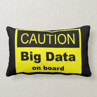 Caution Big Data On Board Lumbar Pillow