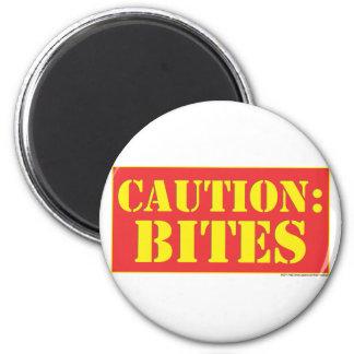 CAUTION: BITES! MAGNET