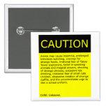 Caution! button