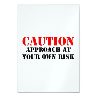 Caution Card