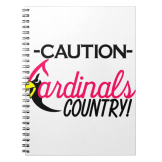 Caution Cardinals Notebook