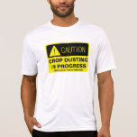 Caution! Crop Dusting in progress - funny running Dresses