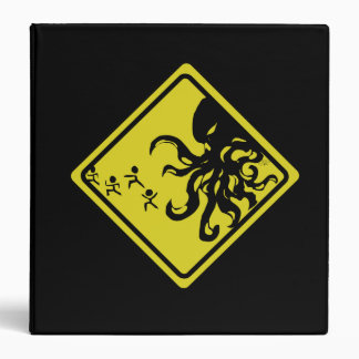 Caution Cthulhu Binder