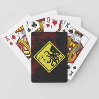 Caution Cthulhu Cheats! Playing Cards
