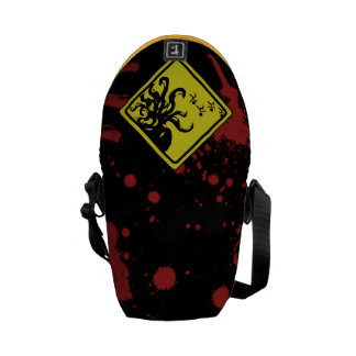 Caution Cthulhu Courier Bag