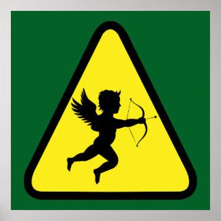 Caution: Cupid Poster