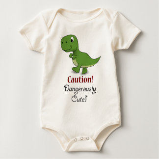 Caution Dangerously Cute T-rex Tee