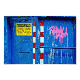 CAUTION! Do Not Play In Color. Art Photo