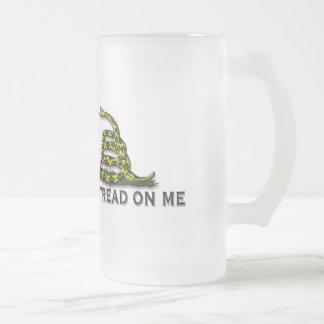 CAUTION Don t Tread On Me FLAG Mugs