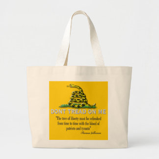 "CAUTION ""Don't Tread On Me"" FLAG Bags"