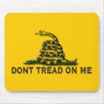 "CAUTION ""Don't Tread On Me"" FLAG Mouse Mat"