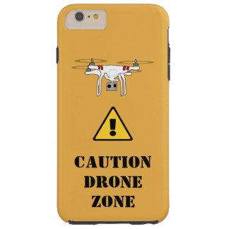 CAUTION DRONE ZONE case Tough iPhone 6 Plus Case