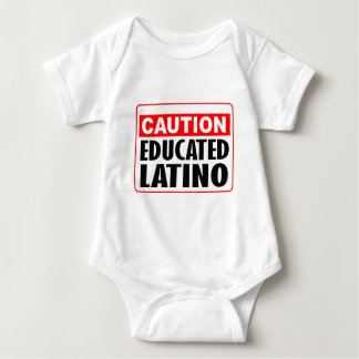 Caution Educated Latino Shirt
