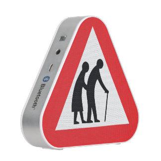 CAUTION Elderly People - UK Traffic Sign Bluetooth Speaker