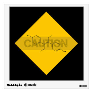 Caution: Estrogen Wall Decal