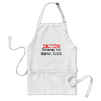 CAUTION!, Extremely hot SUPRA BABE Adult Apron