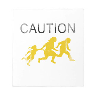 Caution Faded.png Memo Pads