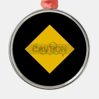 Caution: Fluoxetine Christmas Tree Ornament