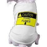 Caution! Gas! Dog T-shirt