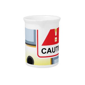 Caution Golden Lock vector Icon Beverage Pitchers