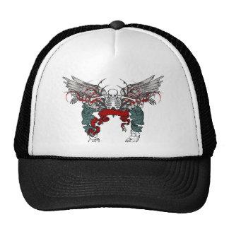 CAUTION GOTHIC TRUCKER HAT