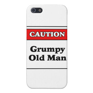 Caution Grumpy Old Man Cover For iPhone SE/5/5s
