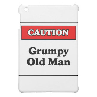 Caution Grumpy Old Man Cover For The iPad Mini