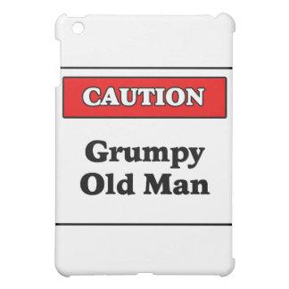 Caution Grumpy Old Man iPad Mini Cases