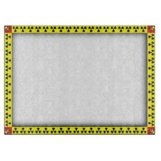 Caution Hazardous Tape Funny Design Cutting Board